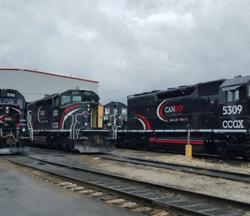 One of Canada's largest locomotive fleets